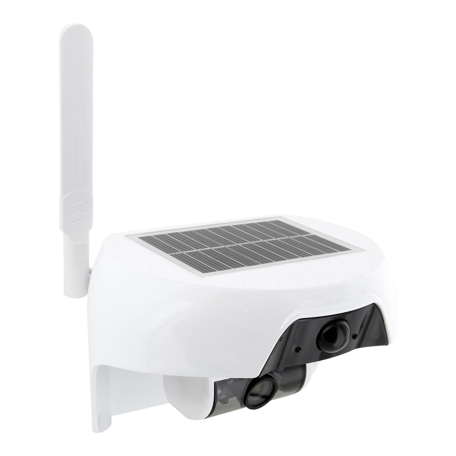 hd ip kamera mit solar panel wlan wifi akku berwachungskamera bewegungssensor ebay. Black Bedroom Furniture Sets. Home Design Ideas