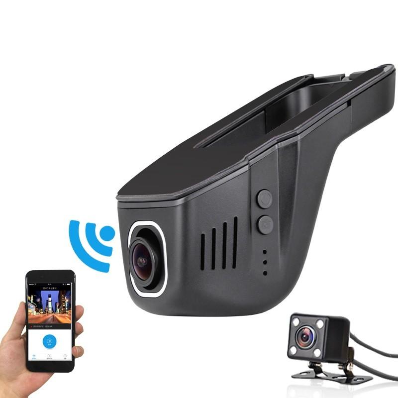 unauf llige wifi full hd dashcam app steuerung mit. Black Bedroom Furniture Sets. Home Design Ideas