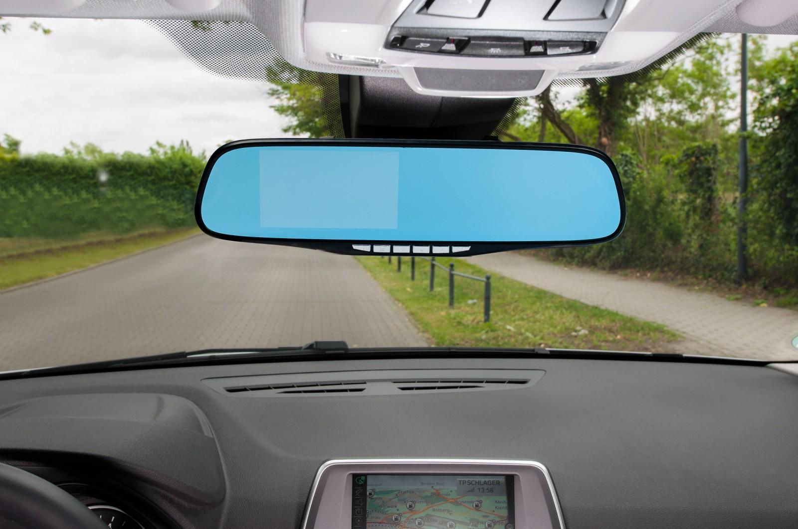 auto dvr r ckspiegel monitor dashcam mit r ckfahrkamera full hd 1080p g sensor. Black Bedroom Furniture Sets. Home Design Ideas