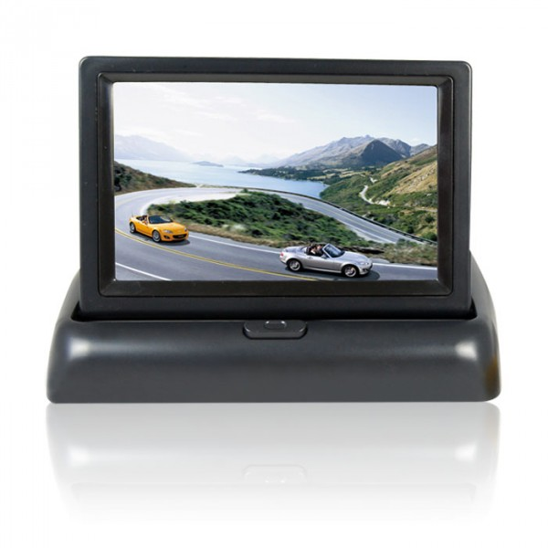 10 5 cm 4 3 zoll auto tft lcd klappmonitor format 16 9. Black Bedroom Furniture Sets. Home Design Ideas