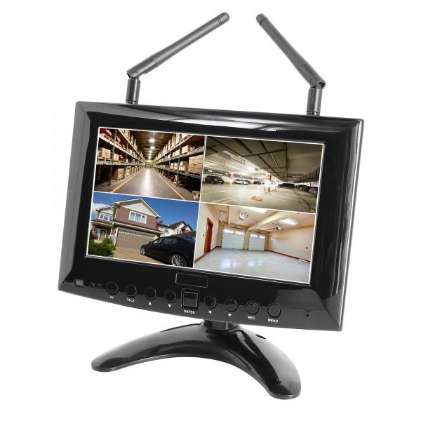 HD IP Echtzeit Funk-Überwachungssystem Digital 1 bis 4 Kameras Smartphone App